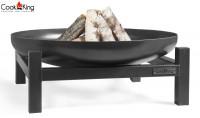 """Feuerschale """"Panama"""" Ø 60cm Feuerstelle für Garten aus Stahl Feuerkorb als Wärmequelle oder Grill"""