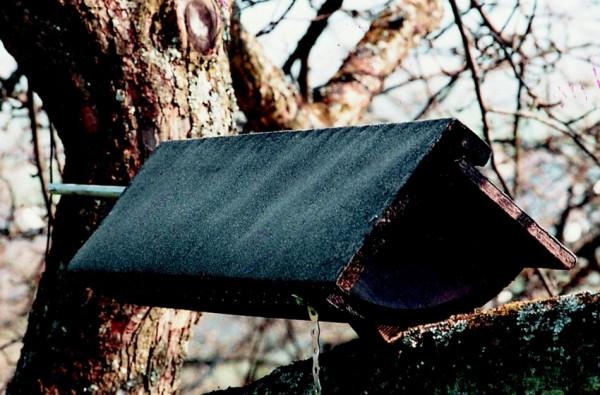 Naturschutzprodukt Steinkauzröhre Typ 22 (Schaukelröhre) Flugloch 64 mm