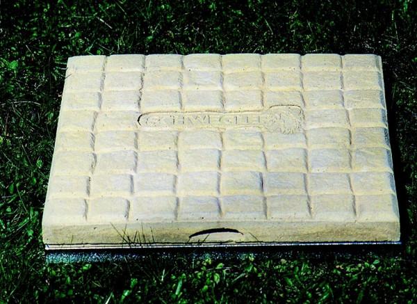 Naturschutzprodukt Ameisen-Beobachtungsstein aus Holz-Sandsteinbeton