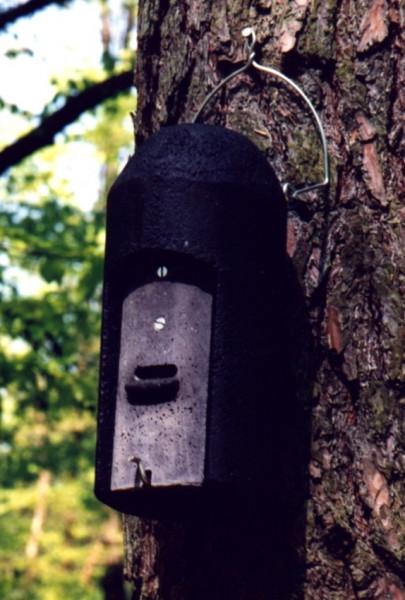 Naturschutzprodukt Fledermaushöhle 1FD mit dreifacher Vorderwand Artenschutz Produkt Fledermäuse
