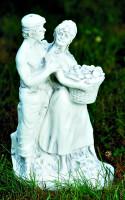 Deko Figur Statue Tristan und Isolde Höhe 39 cm klassische Gartenskulptur Dekofigur Kunststoff