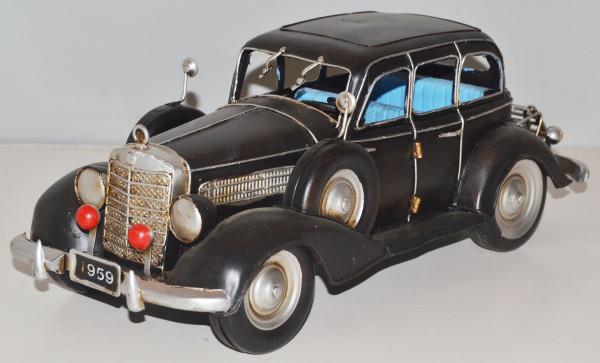Blechauto Nostalgie Modellauto Oldtimer Mercedes-Benz 260 D 1936 aus Blech L 33 cm