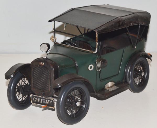 Blechauto Nostalgie Modellauto Oldtimer Austin 1923 britischesModell T aus Blech L 25 cm