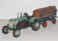 Traktor-Steyr-Oldtimer-Blechmodell-Trecker-Holzanhaenger-ini37416.37718.1