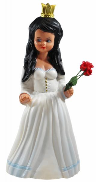 Deko Figur Schneewittchen Gartenfigur stehend Märchenfigur H 40 cm