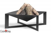 """Feuerschale """"Cuba"""" Ø 70cm Feuerstelle für Garten aus Stahl Feuerkorb als Wärmequelle oder Grill"""
