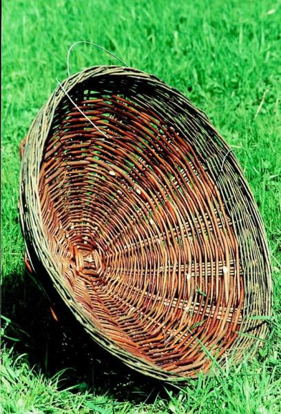 Naturschutzprodukt Nistkorb aus Weidengeflecht D 70 cm Artenschutz Produkt