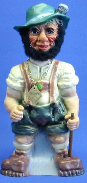 Souvenir Wackel Figur Seppel groß H 26 cm Wackelfigur Original mit Wackelkopf
