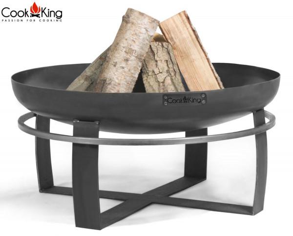 """Feuerschale """"Viking"""" Ø 60cm Feuerstelle für Garten aus Stahl Feuerkorb als Wärmequelle oder Grill"""