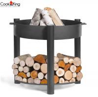 """Feuerschale """"Montana"""" high Ø 80 cm Feuerstelle für Garten aus Stahl als Wärmequelle oder Grill"""