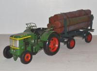 Traktor-Deutz-Oldtimer-Blechmodell-Trecker-Holzanhaenger-ni37679.37718.1
