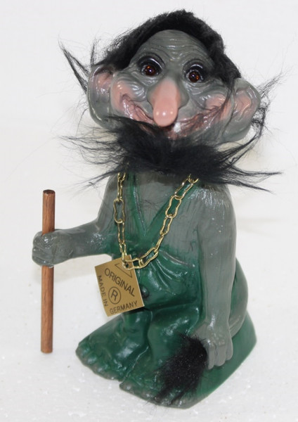 Souvenir Wackel Figur Wurzelsepp klein H 14 cm Wackelfigur Original mit Wackelkopf