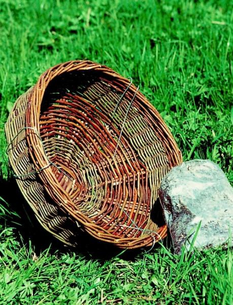Naturschutzprodukt Nistkorb aus Weidengeflecht D 40 cm