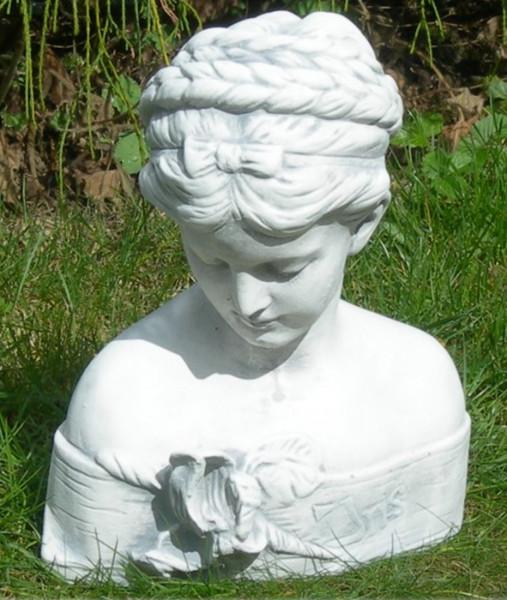 Beton Figur Skulptur Statue Büste Iris H 29 cm Dekofigur und Gartenskulptur
