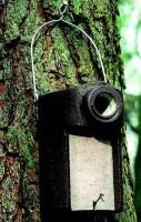 Naturschutzprodukt Starenhöhle Typ 3SV Flugloch 45 mm mit Marderschutz Satz 2 Stück