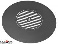 Grillplatte für Feuerschalen Ø 102cm mit Grillrost 50cm Platte für Feuerstelle zum Grillen aus Stahl
