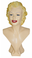 Dekofigur Schauspielerin Sängerin Fotomodell Büste Marilyn Monroe Deko Figur H 49cm