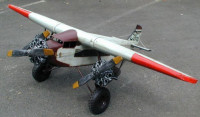 Blechflugzeug Nostalgie Modellflugzeug Oldtimer Marke Ford NC 9609 Flugzeug aus Blech L 190 cm