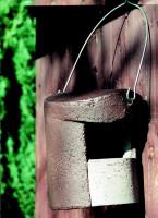Naturschutzprodukt Halbhöhle Typ 2H ohne Katzen- und Marderschutz