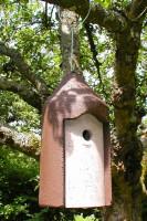 Naturschutzprodukt Nisthöhle Typ 2M Vogelnisthöhle hängend FG Nisthilfe Flugloch 26 mm Satz 2 Stück