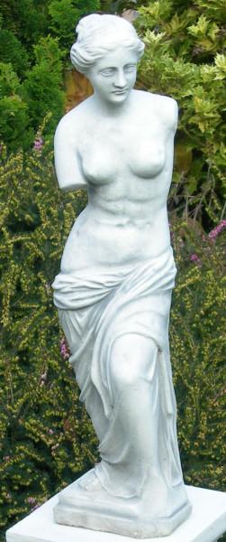 Beton Figur Skulptur Statue Venus von Milo H 58 cm stehend Dekofigur und Gartenskulptur