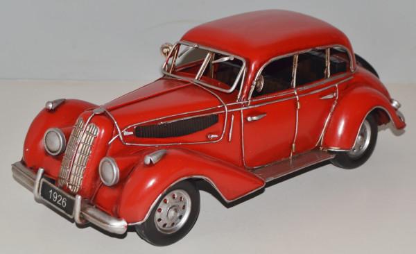 Blechauto Nostalgie Modellauto Oldtimer BMW 335 Limousine aus Blech L 32 cm